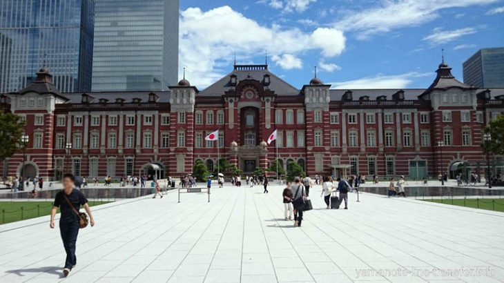 JY01 山手線 東京駅 外観写真