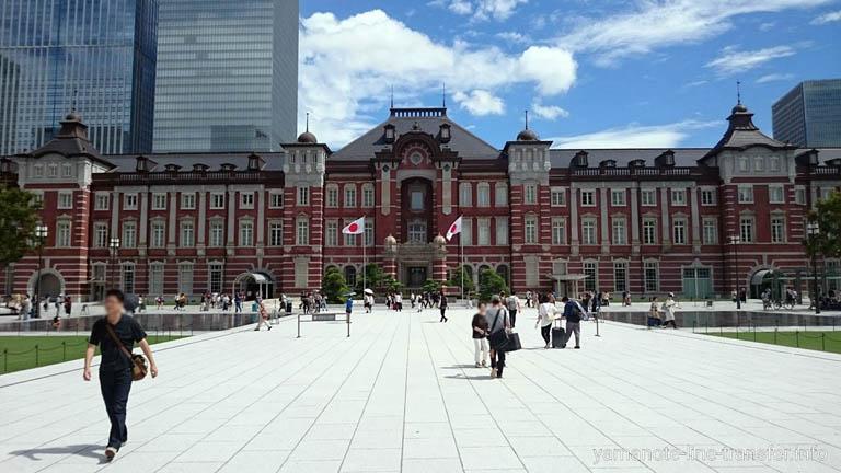 JY01 東京駅外観写真