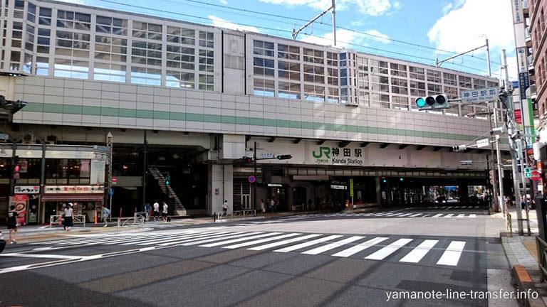 JY02 山手線 神田駅 外観写真