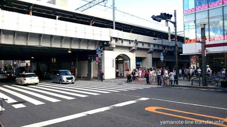 JY04 山手線 御徒町駅 外観写真