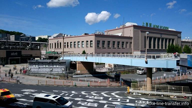 山手線 上野駅 外観写真