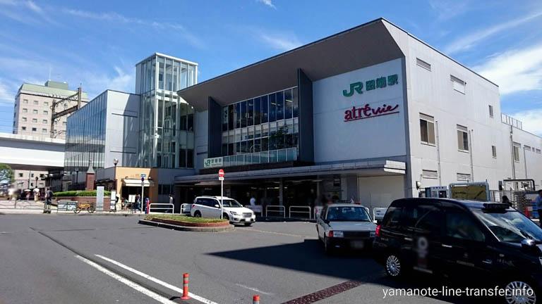 山手線 田端駅 外観写真