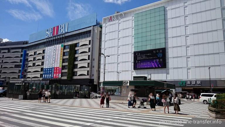 JY13 山手線 池袋駅 外観写真