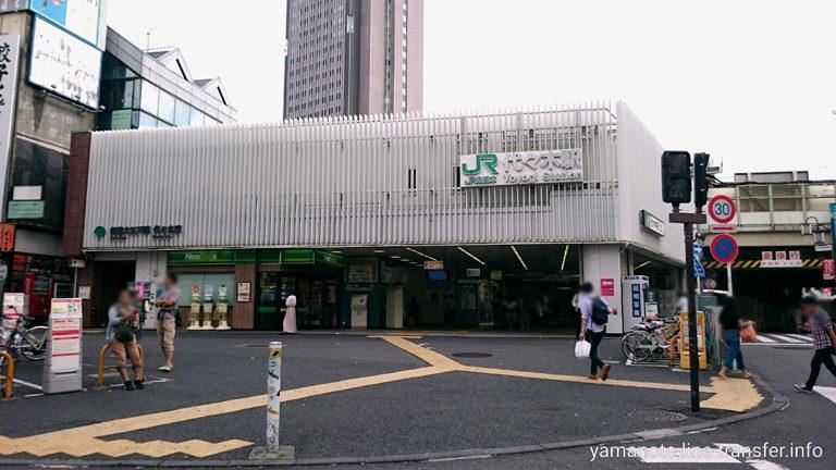 JY18 山手線 代々木駅 外観写真