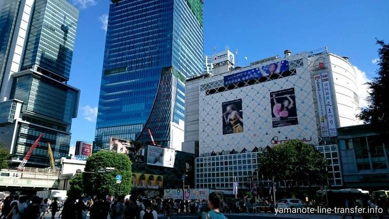 山手線 渋谷駅 外観写真