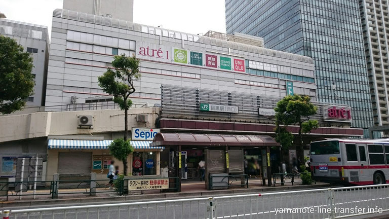 JY22 山手線 目黒駅 外観写真