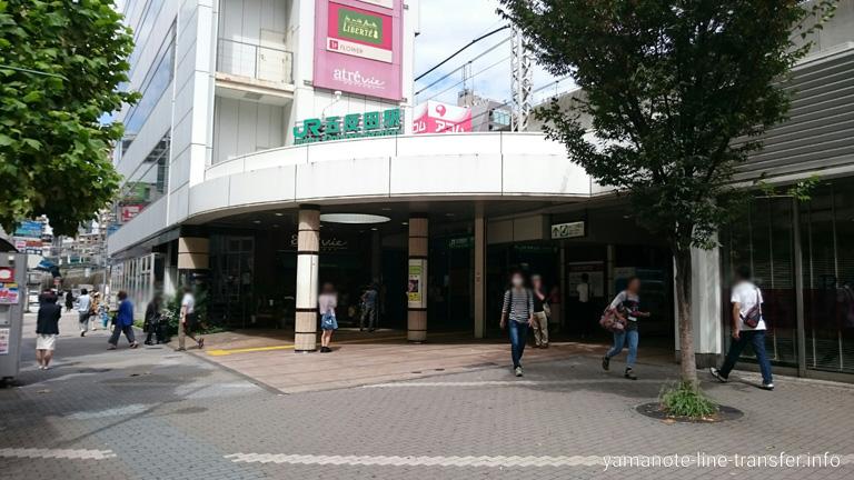 山手線 五反田駅 外観写真