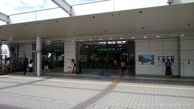 山手線 大崎駅 外観写真