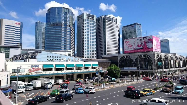 山手線 品川駅 外観写真