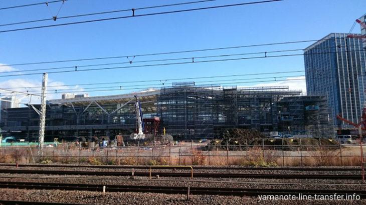 JY26 山手線 高輪ゲートウェイ駅 外観写真