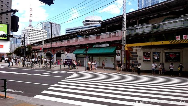 JY30 山手線 有楽町駅 外観写真