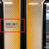 【山手線】乗車車両とドア番号の確認方法