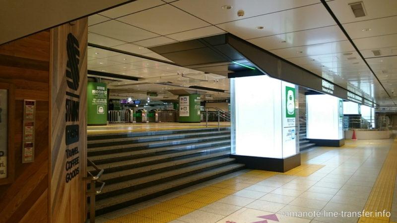 東京駅 新幹線南のりかえ改札 東北・山形・秋田・北海道・上越・北陸方面の写真