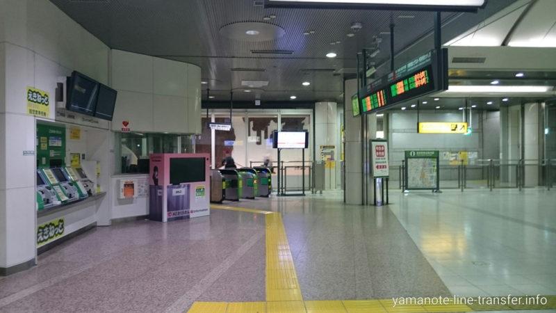 東京駅 京葉地下八重洲口改札