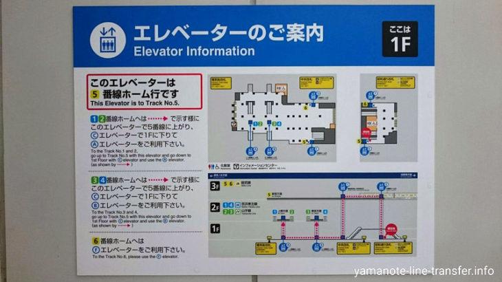 【階段】外回りホームから総武線5番ホーム(新宿・三鷹方面)への乗り換え(秋葉原駅山手線)