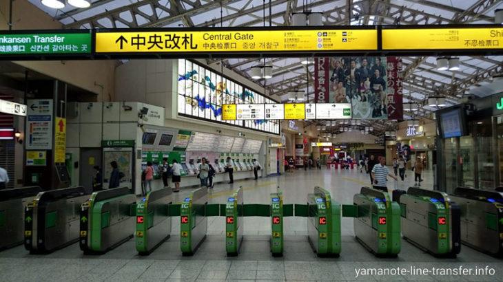 【エスカレーター】外回りホームから中央改札への行き方(上野駅山手線)