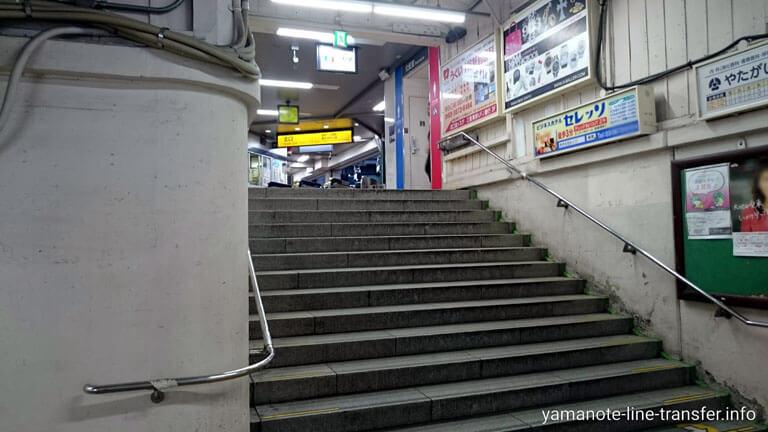 鶯谷駅 北口改札の写真