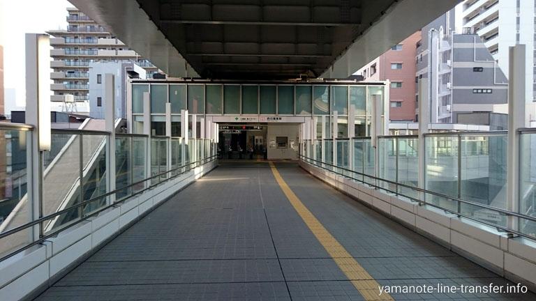 日暮里舎人ライナー 西日暮里駅の写真