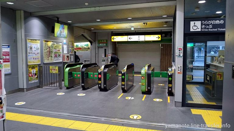 田端駅 北口改札の写真