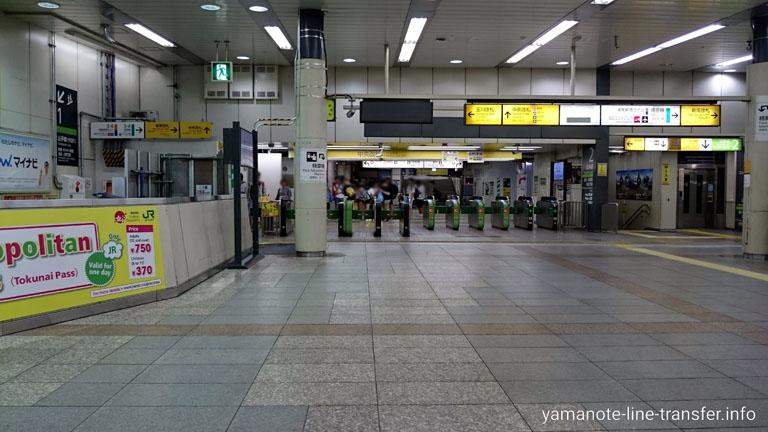 渋谷駅 中央口改札の写真