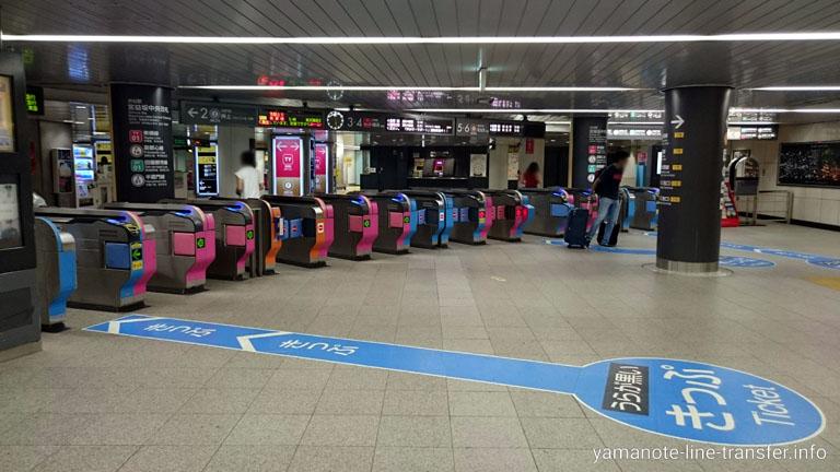 渋谷駅 東急東横線改札の写真