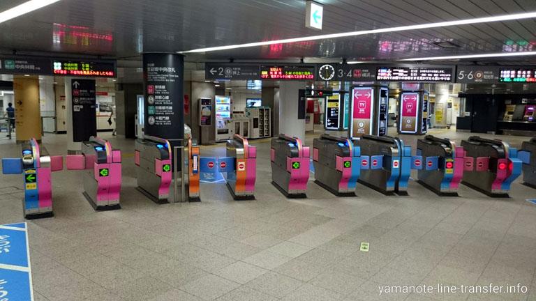 渋谷駅 副都心線改札の写真