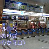 【階段】外回りホームから新幹線のりば(北のりかえ口)への行き方(品川駅山手線)